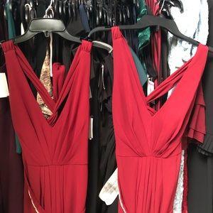 Jenny Parkham Maroon Bridesmaids Dresses 2 size 0